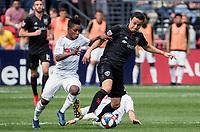 Washington, D.C. - Saturday April 6, 2019: LAFC defeated D.C. United 4-0 in a MLS match at Audi Field.