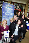 Pix: Shaun Flannery/shaunflanneryphotography.com...COPYRIGHT PICTURE>>SHAUN FLANNERY>01302-570814>>07778315553>>..11th March 2011............Lakeside Village, White Rose Way, Doncaster..M&S Outlet present a cheque for £1227.12 to The Aurora Centre..Staff present the cheque to Barbarra Senior and Peter Bradley of Aurora.