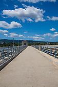 Sepulveda Dam, Sepulveda Basin Recreation Zone, San Fernando Valley, Los Angeles, California, USA