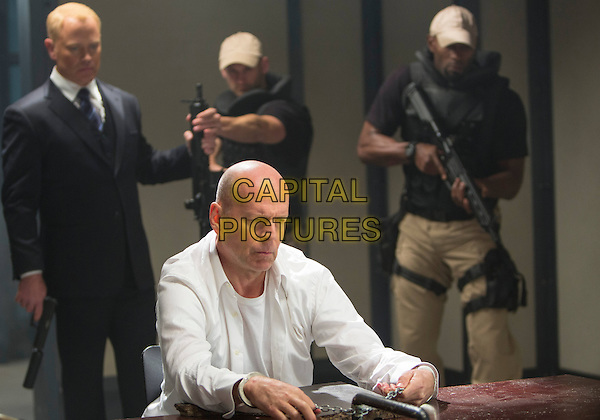 Neal McDonough, Bruce Willis<br /> in RED 2 (2013) <br /> *Filmstill - Editorial Use Only*<br /> CAP/NFS<br /> Image supplied by Capital Pictures