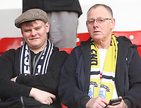 Preston North End's Fans anticipate the kick-off<br /> <br /> Photographer Mick Walker/CameraSport<br /> <br /> The EFL Sky Bet Championship - Nottingham Forest v Preston North End - Saturday 8th December 2018 - The City Ground - Nottingham<br /> <br /> World Copyright © 2018 CameraSport. All rights reserved. 43 Linden Ave. Countesthorpe. Leicester. England. LE8 5PG - Tel: +44 (0) 116 277 4147 - admin@camerasport.com - www.camerasport.com