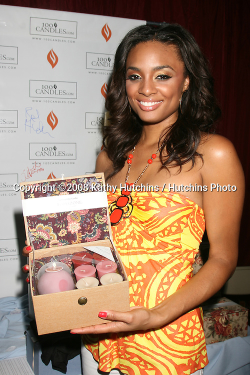 Alesha Renee' at the BET Awards GBK Gifting Lounge outside the Shrine Auditorium in Los Angeles, CA on.June 22, 2008.©2008 Kathy Hutchins / Hutchins Photo .