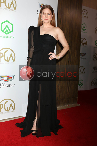 Amy Adams<br /> at the 2019 Producer's Guild Awards, Beverly Hilton Hotel, Beverly Hills, CA 01-19-19<br /> David Edwards/DailyCeleb.com 818-249-4998