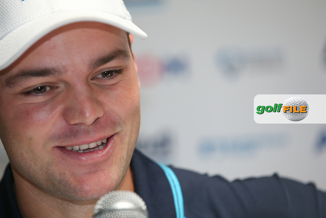 2009 winner Martin Kaymer (GER) loves coming every year to play in France and manages to rest well even with his busy schedule,  during the Media Interviews ahead of the Alstom Open de France from Le Golf National, Guyancourt, Versailles, France. Picture:  David Lloyd / www.golffile.ie