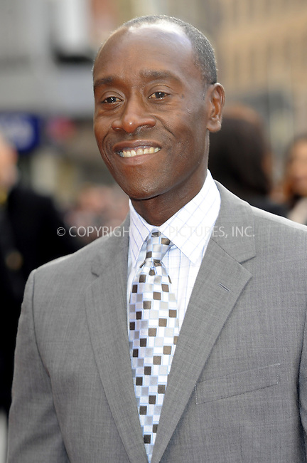 WWW.ACEPIXS.COM....US Sales Only....April 18 2013, London....Don Cheadle at the premiere of 'Iron Man 3' held at the Odeon Leicester Square on April 18 2013 in London ....By Line: Famous/ACE Pictures......ACE Pictures, Inc...tel: 646 769 0430..Email: info@acepixs.com..www.acepixs.com