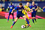 Manchester United midfielder Ander Herrera (l) fights for the ball with Borussia Dortmund midfielder Sebastian Rode (r) during the International Champions Cup China 2016, match between Manchester United vs Borussia  Dortmund on 22 July 2016 held at the Shanghai Stadium in Shanghai, China. Photo by Marcio Machado / Power Sport Images