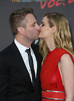 HOLLYWOOD, CA - April 19: Chris Hardwick, Lydia Hearst, At Premiere Of Disney And Marvel's &quot;Guardians Of The Galaxy Vol. 2&quot; At The Dolby Theatre  In California on April 19, 2017. <br /> CAP/MPI/FS<br /> &copy;FS/MPI/Capital Pictures