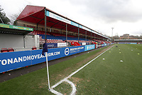 General view of the ground during Brighton & Hove Albion Women vs Arsenal Women, Barclays FA Women's Super League Football at Broadfield Stadium on 12th January 2020