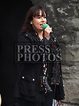 Maria Clarke singing at the Music at the Gate. Photo:Colin Bell/pressphotos.ie