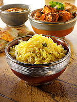 Pilau Rice , Indian food recipe  pictures, photos & images