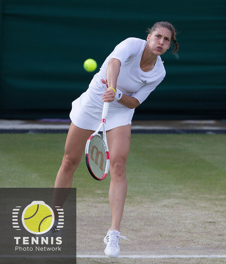 ANDREA PETKOVIC (GER)<br /> <br /> The Championships Wimbledon 2014 - The All England Lawn Tennis Club -  London - UK -  ATP - ITF - WTA-2014  - Grand Slam - Great Britain -  28th June 2014. <br /> <br /> &copy; Tennis Photo Network