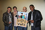 Actors Rene Rosado, Bill Freda (also was Mr. Romance 2003), and Mandell Butler (R) along with director Jorge C. Perez  star in Bodies of Work - NYC which is a TV Pilot and had its screening at Romantic Times Booklovers Annual Convention 2011 - The Book Industry Event of the Year - April 7, 2011 at the Westin Bonaventure, Los Angeles, California for readers, authors, booksellers, publishers, editors, agents and tomorrow's novelists - the aspiring writers. (Photo by Sue Coflin/Max Photos)