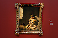 """""""The Young Beggar"""" by Bertolomé Esteban Murillo in the Anne Cox Chambers Wing of the High Museum of Art. Over the next three years, the High Museum will feature hundreds of works of art from the Musée de Louvre."""