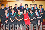 GRADUATES: Students of Kerry Counselling Training Institute who received their Diplomas in Counselling at their Graduation Ceremony with Faculty members at the Meadowlands Hotel on Friday seated l-r: Barbara Murphy, Maranna Quinlivan, Carmel O'Donovan, Dr Anne Kelliher, Mary Murry and Mary Casey. Back l-r: Ciara Williams, P.J. Lally, Christine Tyler, Sine?ad Kavanagh, Jerry McGrath, Kathleen Dennehy, Marie Cronin, Mary Daly and Anne Carmody.   Copyright Kerry's Eye 2008