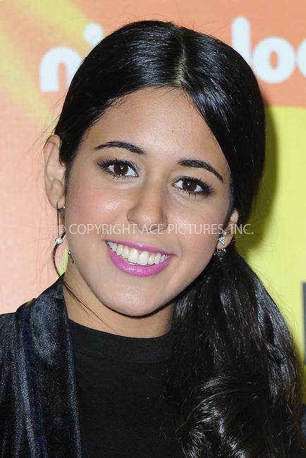 WWW.ACEPIXS.COM<br /> November 14, 2015 New York City<br /> <br /> Maria Quezada attending the 2015 Nickelodeon HALO Awards at Pier 36 on November 14, 2015 in New York City.<br /> <br /> Credit: Kristin Callahan/ACE<br /> Tel: (646) 769 0430<br /> e-mail: info@acepixs.com<br /> web: http://www.acepixs.com