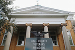 The Hale County Courthouse in Greensboro, Alabama.