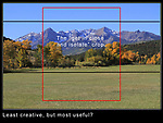 Composition Rule #2. Step Back.<br /> Common compositional logic tells us to get in close. <br /> I like to add more foreground, but you have to know how!