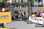 Adam Yates (GBR) Mitchelton-Scott during Stage 1 of the La Vuelta 2018, an individual time trial of 8km running around Malaga city centre, Spain. 25th August 2018.<br /> Picture: Ann Clarke | Cyclefile<br /> <br /> <br /> All photos usage must carry mandatory copyright credit (© Cyclefile | Ann Clarke)
