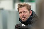 11.02.2020, Trainingsgelaende am wohninvest WESERSTADION,, Bremen, GER, 1.FBL, Werder Bremen Training, im Bild<br /> <br /> Florian Kohfeldt (Trainer SV Werder Bremen)<br /> Einzelaktion, Ganzkörper / Ganzkoerper<br /> Gestik, Mimik, <br /> querformat<br /> <br /> Foto © nordphoto / Kokenge
