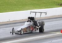 May 20, 2017; Topeka, KS, USA; NHRA top alcohol dragster driver Shawn Cowie during qualifying for the Heartland Nationals at Heartland Park Topeka. Mandatory Credit: Mark J. Rebilas-USA TODAY Sports