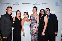 Mr. and Mrs. Perez Vidal, Sheila Gonzalez, Vivian Del Valle, Elizabeth Toledo, and Danilo Toledo attend The Boys and Girls Club of Miami Wild About Kids 2012 Gala at The Four Seasons, Miami, FL on October 20, 2012
