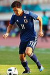 Keita Endo (JPN), <br /> AUGUST 19, 2018 - Football / Soccer : <br /> Men's Group D match <br /> between Japan 0-1 Vietnam <br /> at Wibawa Mukti Stadium <br /> during the 2018 Jakarta Palembang Asian Games <br /> in Cikarang, Indonesia. <br /> (Photo by Naoki Morita/AFLO SPORT)