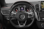 Car pictures of steering wheel view of a 2018 Mercedes Benz GLE-Class 350 5 Door SUV Steering Wheel