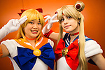 Two Toronto-based Sailor Moon fans at Montreal Otakuthon.