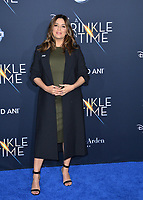 Eva Longoria at the premiere for &quot;A Wrinkle in Time&quot; at the El Capitan Theatre, Los Angeles, USA 26 Feb. 2018<br /> Picture: Paul Smith/Featureflash/SilverHub 0208 004 5359 sales@silverhubmedia.com