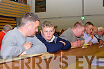 The Gradys keep an eye on the count during the count in the Killarney area on Saturday