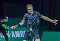 Rotterdam, Netherlands, 10 februari, 2018, Ahoy, Tennis, ABNAMROWTT, Qalifying, Matthias Bachinger <br /> Photo: Henk Koster/tennisimages.com