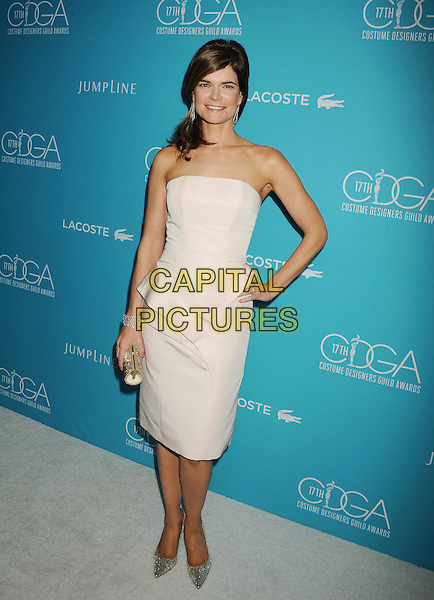 BEVERLY HILLS, CA - FEBRUARY 17: Actress Betsy Brandt attends the 17th Costume Designers Guild Awards at The Beverly Hilton Hotel on February 17, 2015 in Beverly Hills, California.<br /> CAP/ROT/TM<br /> &copy;TM/ROT/Capital Pictures