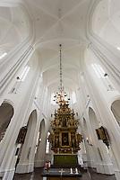 Altar  in der St.Petri-Kirche (14.Jh.) in Malmö, Provinz Skåne (Schonen), Schweden, Europa<br /> Altar in Gothic St.Peter's Church in Malmo, Sweden