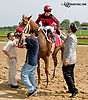 Lady Paradime winning at Delaware Park on 10/3/13