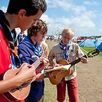 From the cultural festival day. Photo: Christoffer Munkestam/Scouterna