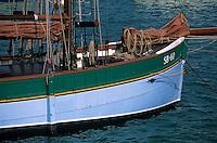 Europe/France/Bretagne/22/Côtes d'Armor/Erquy: Détail vieux gréement sur le port