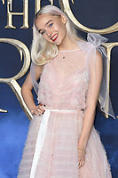 LONDON, UK. November 13, 2018: Maddi Jean Waterhouse at the &quot;Fantastic Beasts: The Crimes of Grindelwald&quot; premiere, Leicester Square, London.<br /> Picture: Steve Vas/Featureflash