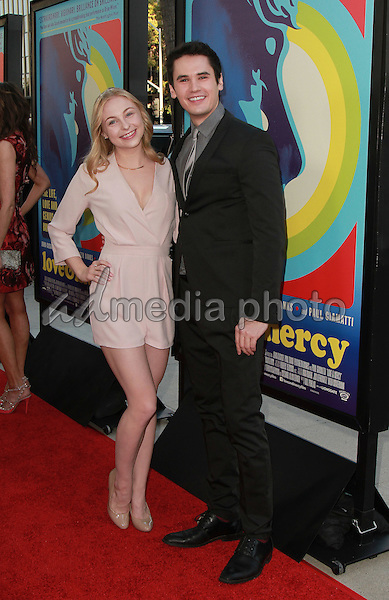 02, June 2015 - Beverly Hills, California -  Shelby Wulfert, Monty Geer arrive at the 'Love & Mercy' Los Angeles premiere at the Samuel Goldwyn Theater in Beverly Hills, California. Photo Credit: Theresa Bouche/AdMedia