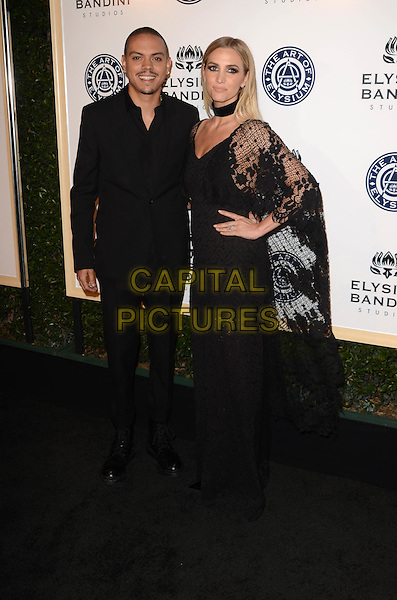 LOS ANGELES, CA - JANUARY 7: Evan Ross, Ashlee Simpson at the The Art Of Elysium Tenth Annual Celebration 'Heaven' Charity Gala at Red Studios in Los Angeles, California on January 7, 2017. <br /> CAP/MPI/DE<br /> &copy;DE/MPI/Capital Pictures