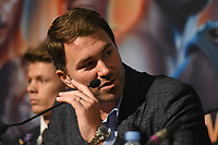 Eddie Hearn during a Press Conference at the Grange City Hotel on 6th February 2019