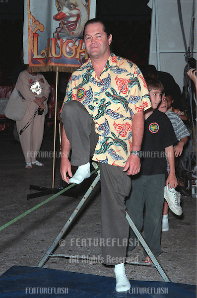 "21JUL99: ""Monkees"" pop star MICKEY DOLENZ at the Los Angeles opening night of Ringling Bros and Barnum & Bailey Circus. The evening was to benefit the Cystic Fibrosis Foundation..© Paul Smith / Featureflash"