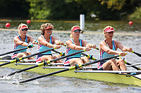 Race: 56  W.MasB.4x  Roeivereniging Breda (NED) vs Exeter/Star Composite<br /> <br /> Henley Masters Regatta 2019 - Friday<br /> <br /> To purchase this photo, or to see pricing information for Prints and Downloads, click the blue 'Add to Cart' button at the top-right of the page.