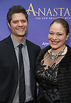 Tom Kitt and Rita Pietropinto   attend Broadway Opening Night performance of 'Anastasia' at the Broadhurst Theatre on April 24, 2017 in New York City.