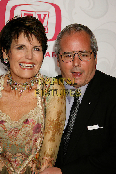 LUCIE ARNAZ & DESI ARNAZ JR..Attending the 5th Annual TV Land Awards - Arrivals,.held at Barker Hangar, Santa Monica, California, .USA, 14 April, 2007..half length .CAP/ADM/RE.©Russ Elliot/AdMedia/Capital Pictures.
