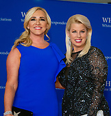 Jamie Colby, left, and Rita Cosby, right, arrive for the 2018 White House Correspondents Association Annual Dinner at the Washington Hilton Hotel on Saturday, April 28, 2018.<br /> Credit: Ron Sachs / CNP<br /> <br /> (RESTRICTION: NO New York or New Jersey Newspapers or newspapers within a 75 mile radius of New York City)