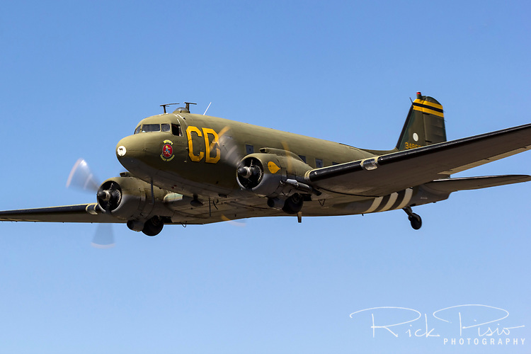 Douglas C-47 Dakota in flight