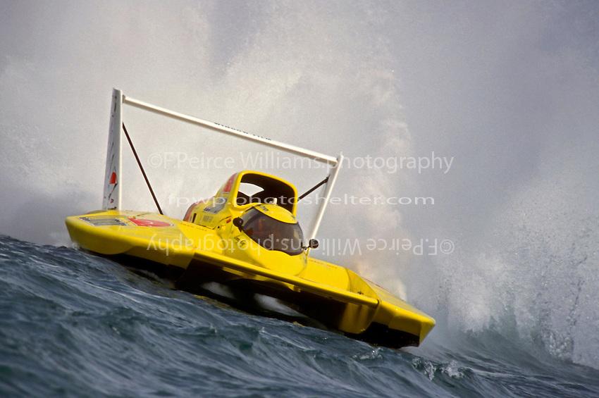 """Jimmy King, U-8 """"Llumar"""" (Unlimited Hydroplanes)"""