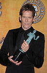 LOS ANGELES, CA. - January 23: Kevin Bacon poses in the press room at the 16th Annual Screen Actors Guild Awards held at The Shrine Auditorium on January 23, 2010 in Los Angeles, California.