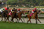 ARCADIA, CA  JANUARY 06: #8 Itsinthepost, ridden by Tyler Baze, in the stretch of the San Gabriel Stakes (Grade ll) on January 6, 2018, at Santa Anita Park in Arcadia, CA. (Photo by Casey Phillips/ Eclipse Sportswire/ Getty Images)