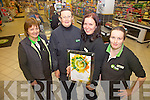 Dunne's GALA in Cahersiveen celebrate Gold Award pictured here staff l-r; Maura Corcoran, Eileen McCarthy-O'Connell, Rima Karbauskaite & Marguerite Donnelly.
